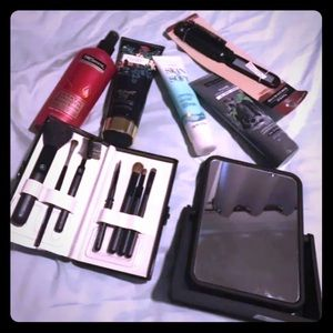 Beauty Bundle- Mirror, Brushes, Lotions, etc